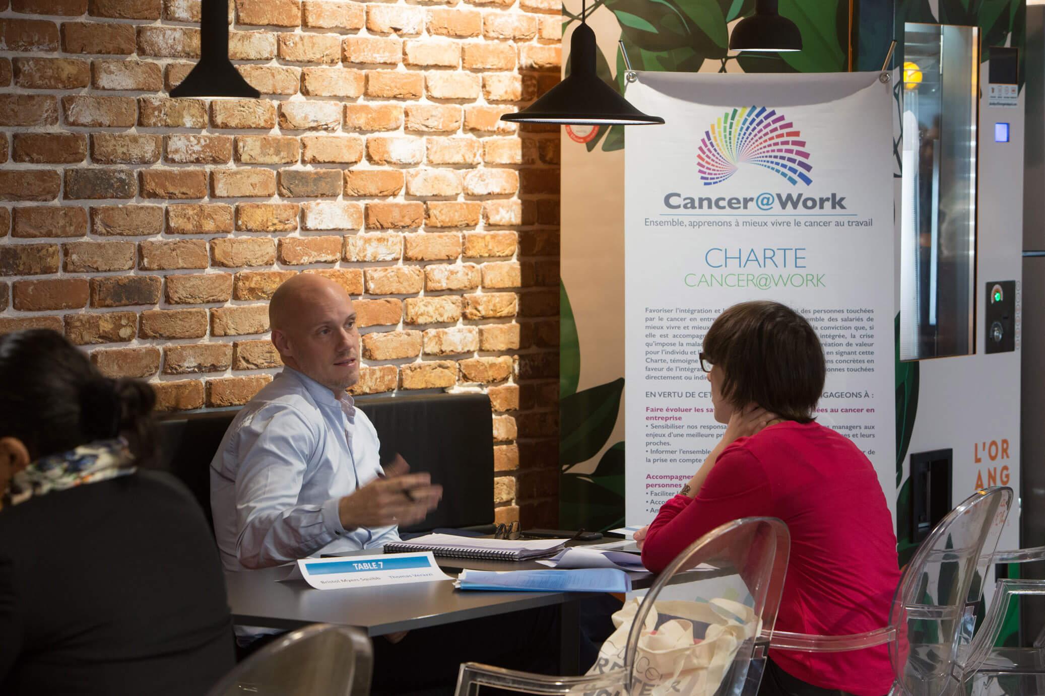 Job dating organisé par Cancer@Work